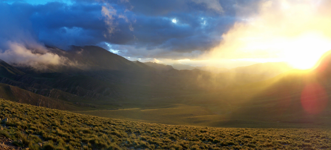 Argentina - Andean sunset